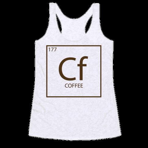 Coffee Science Racerback Tank Top