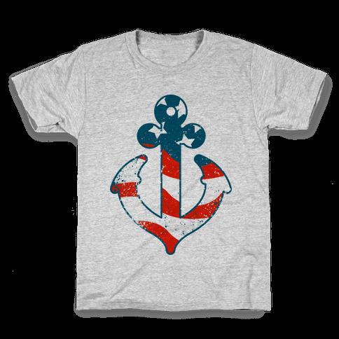 American Anchor Kids T-Shirt