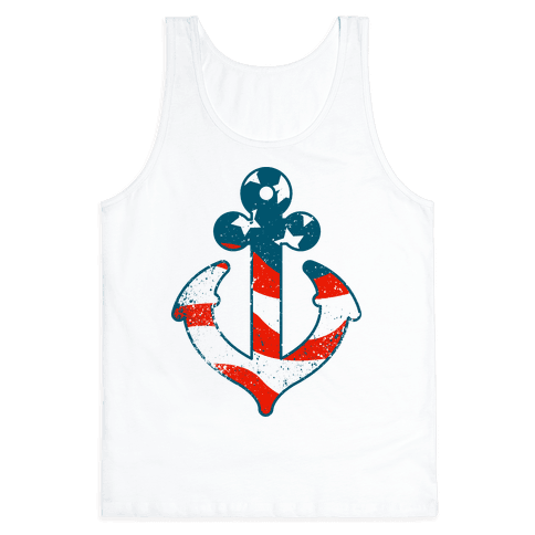 American Anchor Tank Top