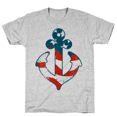 American Anchor Mens T-Shirt