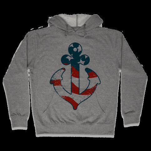 American Anchor Hooded Sweatshirt