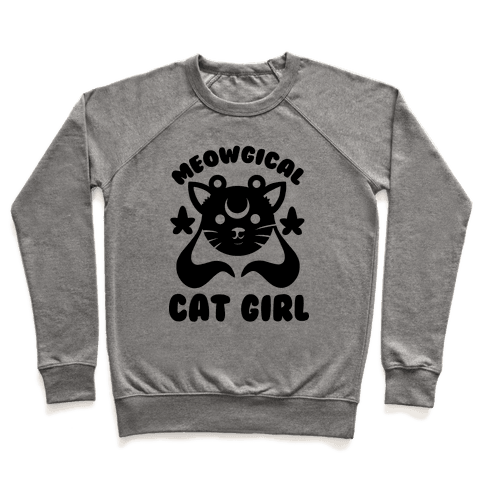 Meowgical Cat Girl Pullover