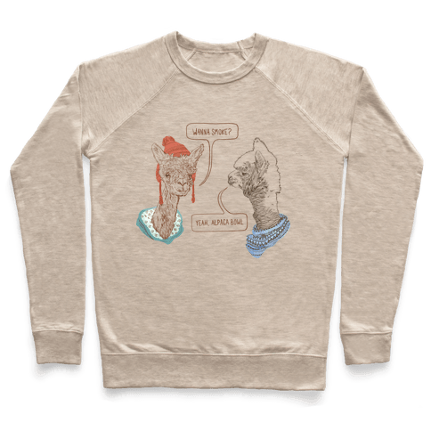 Alpaca Bowl Pullover