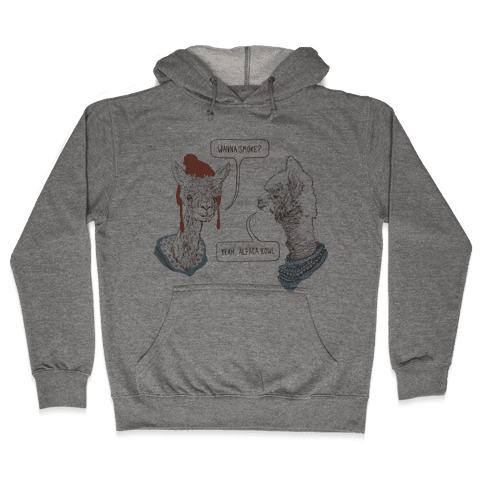 Alpaca Bowl Hooded Sweatshirt