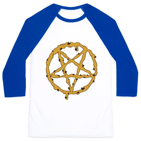 Cookie Dough Pentagram Baseball Tee
