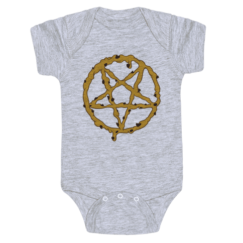 Cookie Dough Pentagram Baby Onesy
