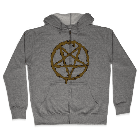 Cookie Dough Pentagram Zip Hoodie