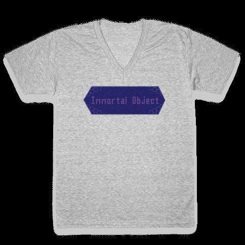 Immortal Object V-Neck Tee Shirt