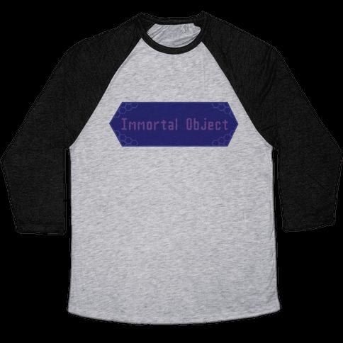 Immortal Object Baseball Tee