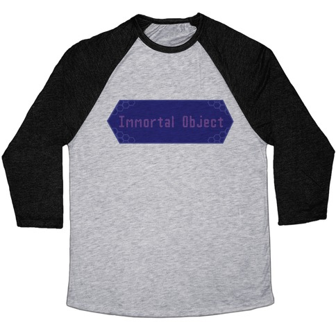 Immortal Object Baseball Tee