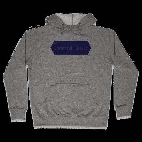 Immortal Object Hooded Sweatshirt