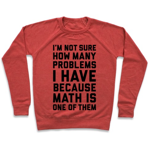 Math Problems Pullover