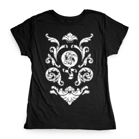 Female Toile Womens T-Shirt