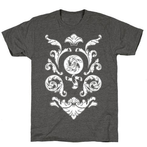 Female Toile Mens/Unisex T-Shirt