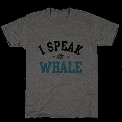 I Speak Whale (Dory) Mens T-Shirt