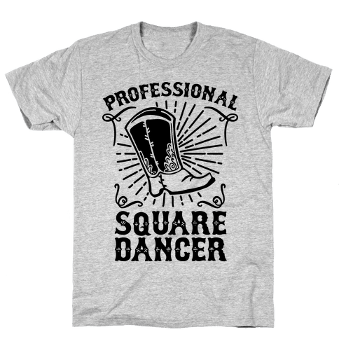 Professional Square Dancer Mens T-Shirt