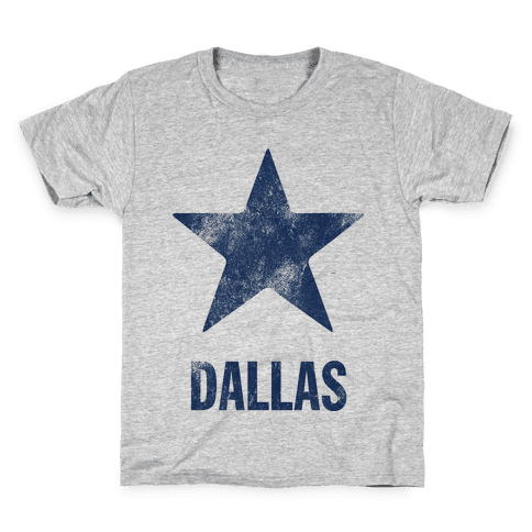 Dallas Alternate (Vintage) Kids T-Shirt