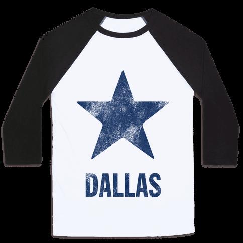 Dallas Alternate (Vintage) Baseball Tee