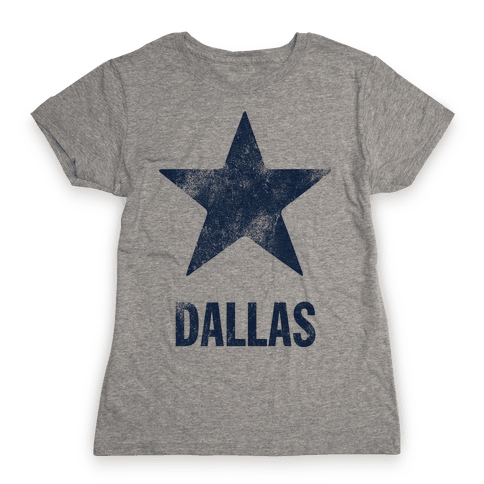 Dallas Alternate (Vintage) Womens T-Shirt