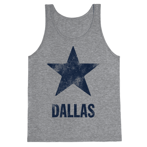 Dallas Alternate (Vintage) Tank Top