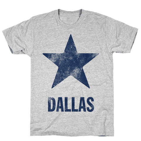 Dallas Alternate (Vintage) Mens T-Shirt