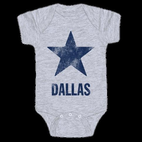 Dallas Alternate (Vintage) Baby Onesy