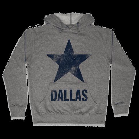 Dallas Alternate (Vintage) Hooded Sweatshirt