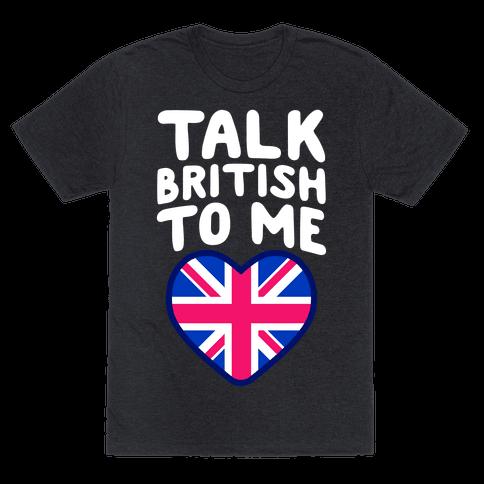 British ebony talk dirty to me