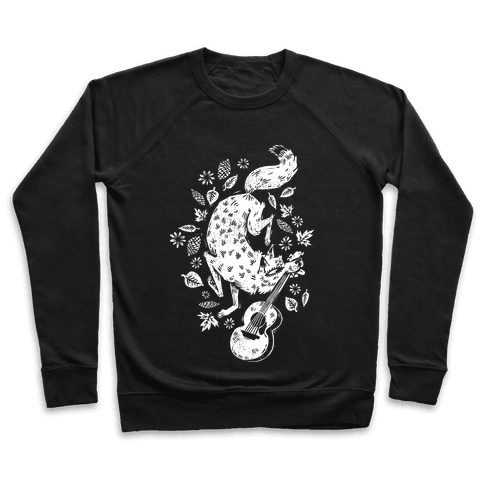 Guitar Wolf Pullover