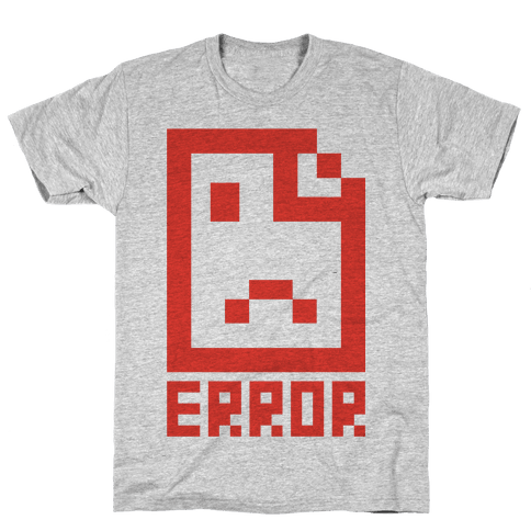 Error Mens T-Shirt