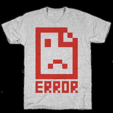 Error Mens T-Shirt