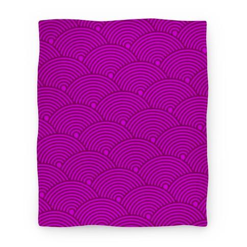 Scale Pattern Blanket (Pink) Blanket