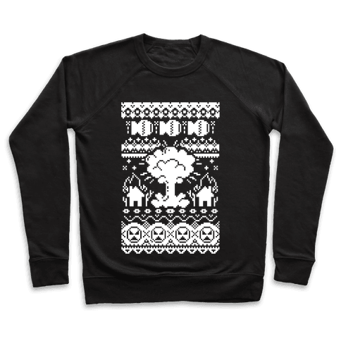 Nuclear Christmas Sweater Pattern Pullover