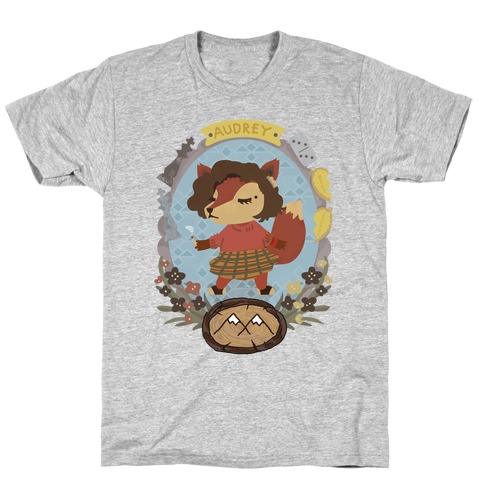Audrey Horn Fox T-Shirt
