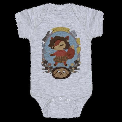 Audrey Horn Fox Baby Onesy