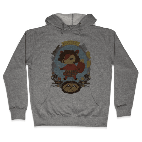 Audrey Horn Fox Hooded Sweatshirt