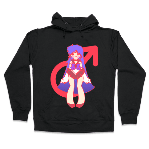 Pretty Soldiers: Mars Hooded Sweatshirt