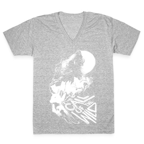The Call Of The Wild V-Neck Tee Shirt