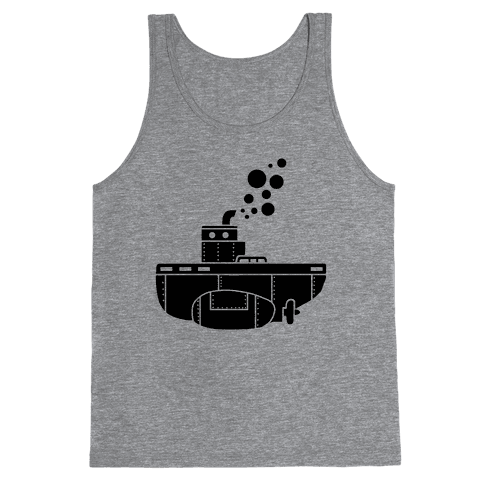 Nautical Submarine Tank Top