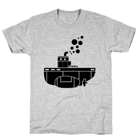Nautical Submarine Mens T-Shirt