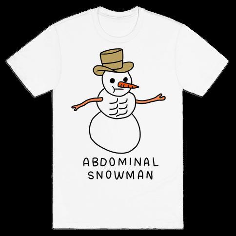 Abdominal Snowman Mens T-Shirt