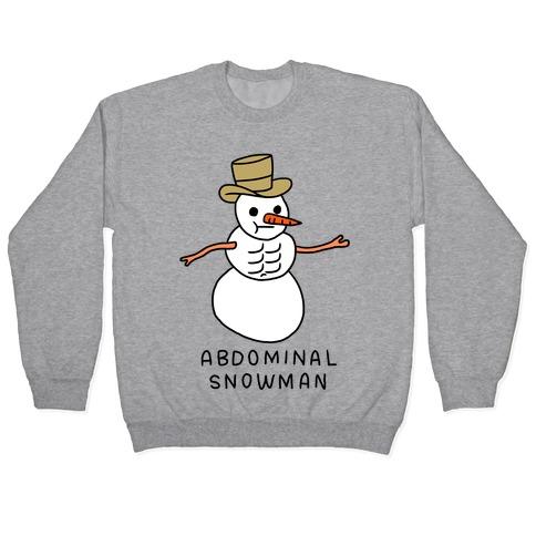Abdominal Snowman Pullover
