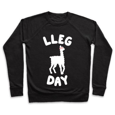 Lleg Day Llama Pullover