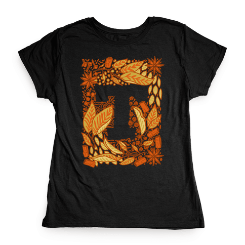The Letter Tea Womens T-Shirt