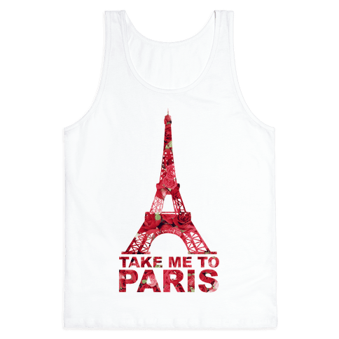 Take Me To Paris Tank Top