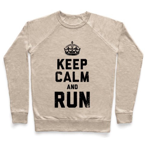 Keep Calm And Run (Tank) Pullover