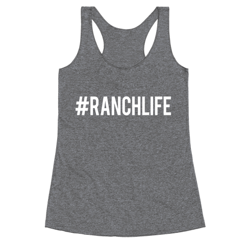 Ranch Life Racerback Tank Top