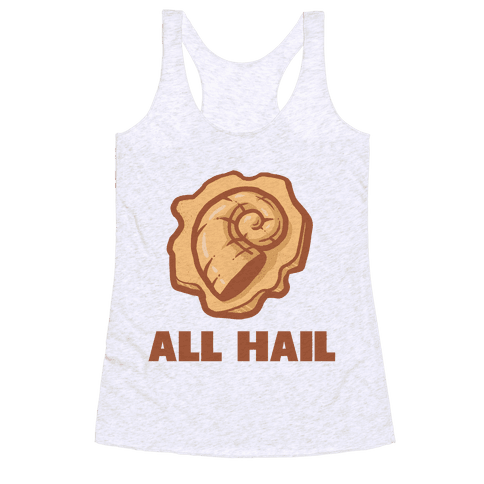 All Hail the Helix Racerback Tank Top