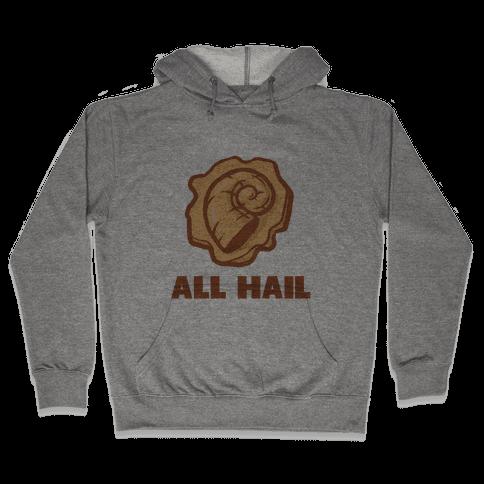 All Hail the Helix Hooded Sweatshirt