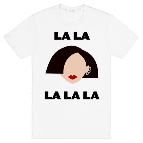 La La La (Jane) Mens T-Shirt